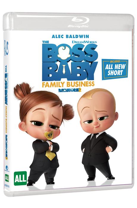 보스 베이비 2 [THE BOSS BABY: FAMILY BUSINESS]