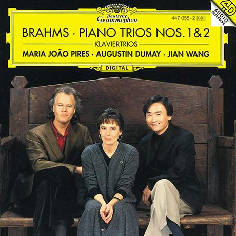 PIANO TRIOS NOS.1 & 2/ MARIA JOAO PIRES, AUGUSTIN DUMAY, JIAN WANG [브람스: 피아노 트리오 - 피레스, 뒤메이, 왕]