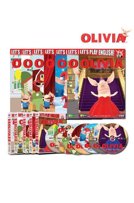 올리비아 시즌 1-7 풀세트 [DVD+BOOK] [OLIVIA SEASON FULL SET]