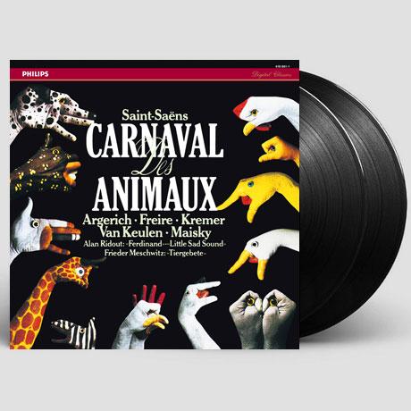 CARNAVAL DES ANIMAUX/ MARTHA ARGERICH [ANALOGPHONIC 180G LP] [생상스: 동물의 사육제 - 마르타 아르헤리치]