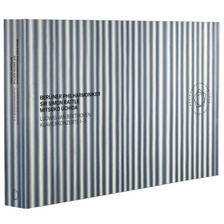 PIANO CONCERTO 1-5/ MITSUKO UCHIDA, SIMON RATTLE [3CD+2BD] [베토벤: 피아노 협주곡 - 우치다와 래틀의 베토벤 아우라]