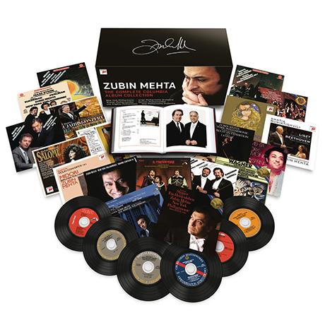 THE COMPLETE COLUMBIA ALBUM COLLECTION [94CD+3DVD] [주빈 메타: 콜럼비아 앨범 컬렉션] [한정반]