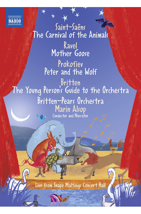 THE YOUNG PERSON`S GUIDE TO THE ORCHESTRA/ MARIN ALSOP [브리튼: 청소년을 위한 오케스트라 입문 외] [한글자막]