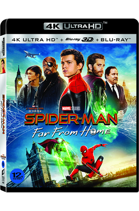 스파이더맨: 파 프롬 홈 4K UHD+3D+2D [SPIDER-MAN: FAR FROM HOME]