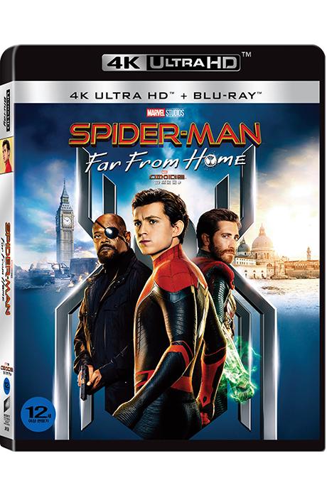 스파이더맨: 파 프롬 홈 4K UHD+BD [SPIDER-MAN: FAR FROM HOME]