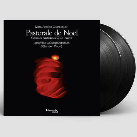 PASTORALE DE NOEL/ SEBASTIEN DAUCE [샤르팡티에: 크리스마스 목가극 - 앙상블 코레스퐁당스, 도세] [한정반] [LP]