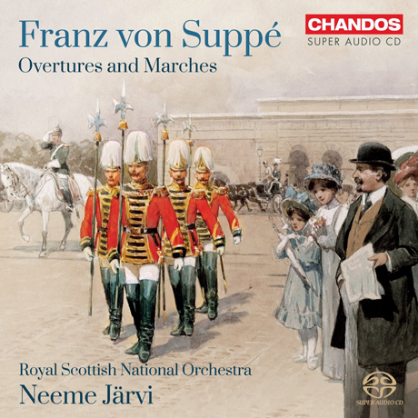 OVERTURES AND MARCHES/ NEEME JARVI [SACD HYBRID]