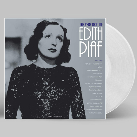 THE VERY BEST OF EDITH PIAF [180G CLEAR LP]