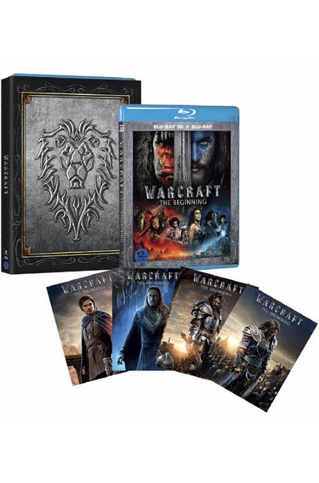[기간한정할인] 워크래프트: 전쟁의 서막 3D+2D [얼라이언스 오링&캐릭터 카드 한정판] [WARCRAFT: THE BEGINNING]