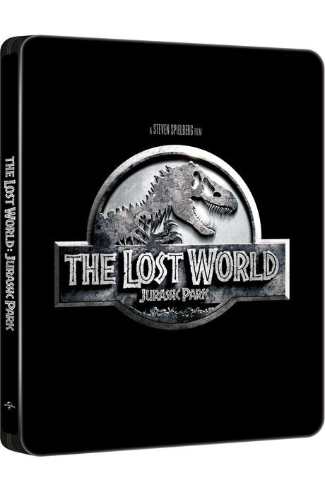 쥬라기 공원 2: 잃어버린 세계 [4K UHD+BD] [스틸북 한정판] [THE LOST WORLD: JURASSIC PARK]