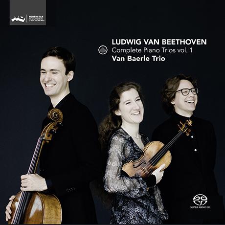COMPLETE PIANO TRIOS VOL.1/ VAN BAERLE TRIO [SACD HYBRID] [베토벤: 피아노 트리오 1집 - 판 베를 트리오]