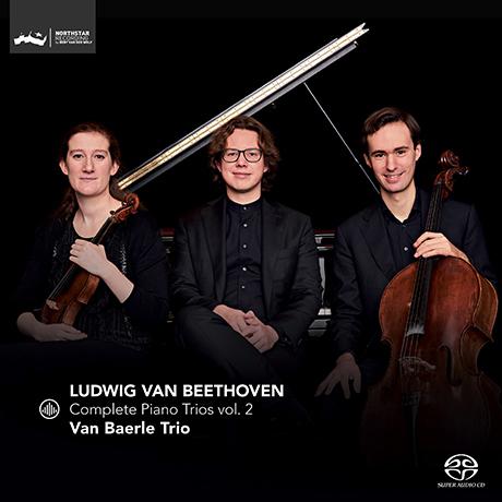COMPLETE PIANO TRIOS VOL.2/ VAN BAERLE TRIO [SACD HYBRID] [베토벤: 피아노 트리오 2집 - 판 베를 트리오]