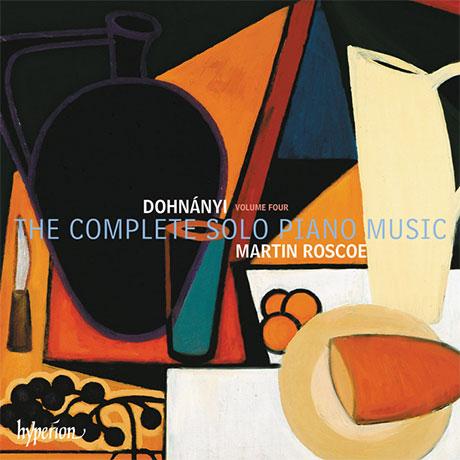 THE COMPLETE SOLO PIANO MUSIC VOL.4/ MARTIN ROSCOE [도흐나니: 솔로 피아노 작품 4집 - 마틴 로스코]