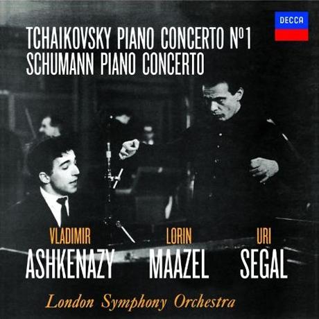PIANO CONCERTOS/ VLADIMIR ASHKENAZY, LORIN MAAZEL, URI SEGAL [SHM-CD] [차이코프스키: 피아노 협주곡 1번 & 슈만: 피아노 협주곡 - 아쉬케나지, 마젤, 시걸]