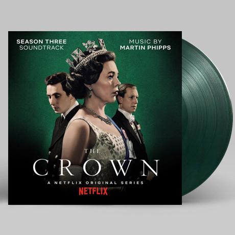 THE CROWN SEASON THREE [더 크라운 시즌 3] [CLEAR GREEN & BLACK MIXED] [180G LP] [한정반]
