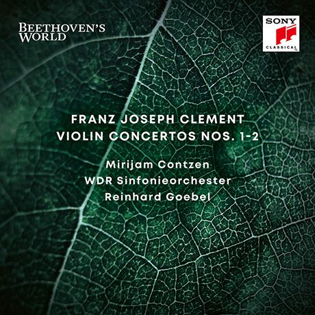 VIOLIN CONCERTOS NOS.1-2/ REINHARD GOEBEL [BEETHOVEN`S WORLD 1] [클레멘트: 바이올린 협주곡 - 라인하르트 괴벨]