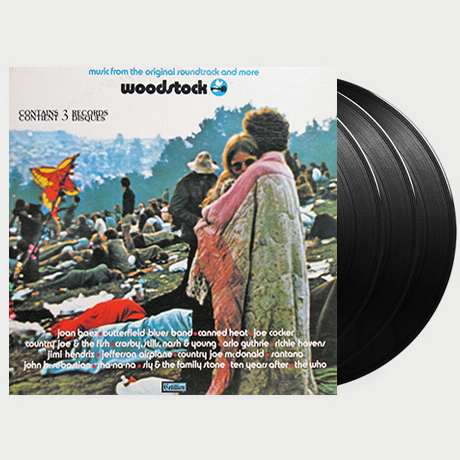 WOODSTOCK: MUSIC FROM THE ORIGINAL SOUNDTRACK AND MORE [LP]