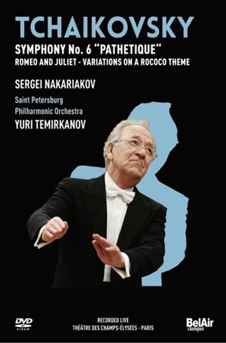 SYMPHONY NO.6/ SERGEI NAKARIAKOV, YURI TEMIRKANOV [차이코프스키: 교향곡 6번]