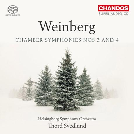 CHAMBER SYMPHONIES NOS 3 AND 4/ THORD SVEDLUND [SACD HYBRID] [바인베르크: 실내악 교향곡 3 & 4번]
