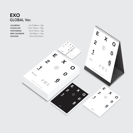 EXO G 2016 SEASONS GREETINGS: GLOBAL