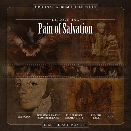 ORIGINAL ALBUM COLLECTION: DISCOVERING PAIN OF SALVATION