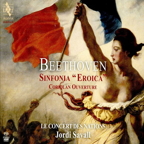 "SYMPHONY NO.3 ""EROICA"" & CORIOLAN OVERTURE/ JORDI SAVALL [SACD HYBRID] [베토벤: 교향곡 3번 & 코리올란 서곡 - 조르디 사발]"
