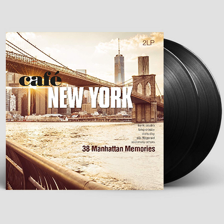 CAFE NEW YORK: 38 MANHATTAN MEMORIES [180G LP]