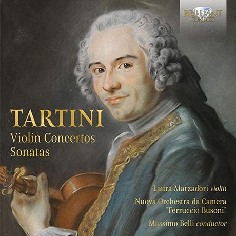 VIOLIN CONCERTOS; SONATAS/ LAURA MARZADORI, MASSIMO BELLI [타르티니: 바이올린 협주곡, 4중주 소나타 - 로라 마르차도리]