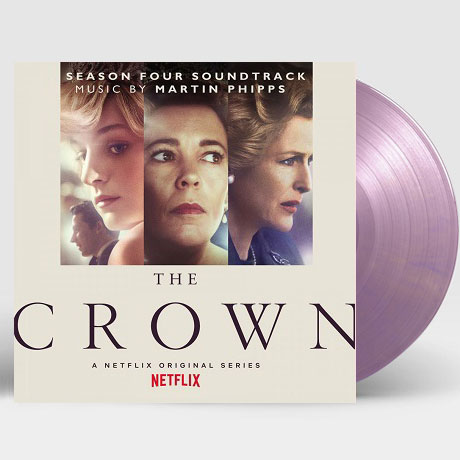 THE CROWN SEASON FOUR [NETFLIX ORIGINAL SERIES] [더 크라운 시즌 4] [180G ROYAL PURPLE LP]