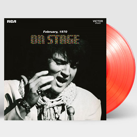 ON STAGE: FEBRUARY 1970 [180G CLEAR RED LP]