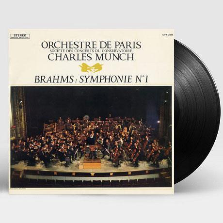 SYMPHONY NO.1/ CHARLES MUNCH [브람스: 교향곡 1번 - 샤를 뮌시] [180G LP] [한정반]