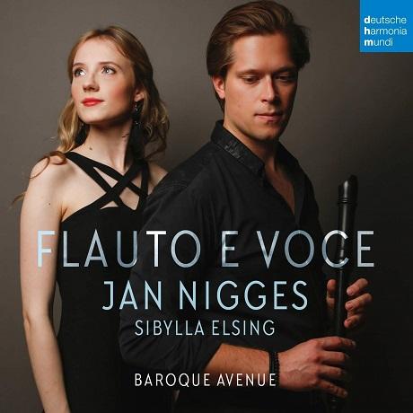 FLAUTO E VOCE/ JAN NIGGES, SIBYLLA ELSING [플루트와 목소리: 얀 니게스, 시빌라 엘싱]