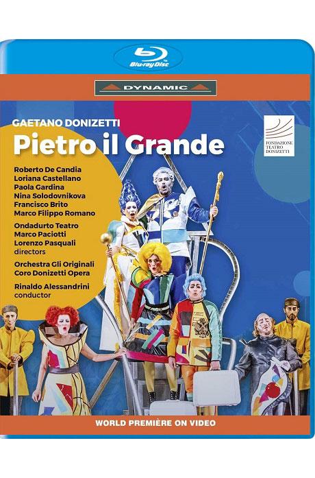 PIETRO IL GRANDE/ RINALDO ALESSANDRINI [도니제티: 피에트로 대제 - 리날도 알레산드리니] [한글자막]
