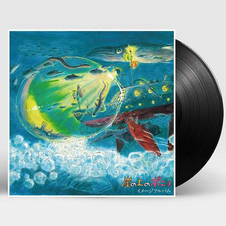 PONYO ON A CLIFF BY THE SEA_崖の上のポニョ[벼랑 위의 포뇨: 이미지 앨범] [ANIME SONG ON VINYL 2021 한정반] [LP]