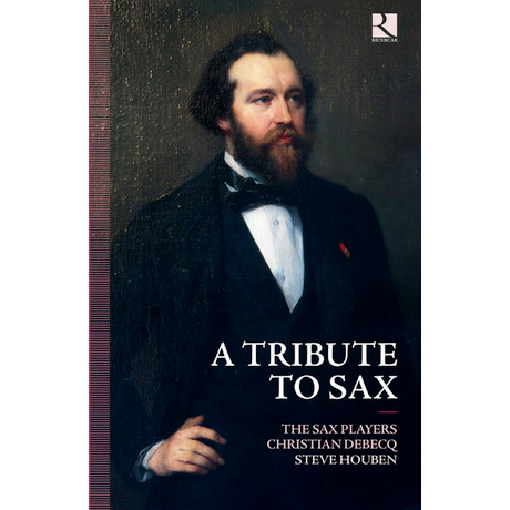 A TRIBUTE TO SAX/ THE SAX PLAYERS, STEVE HOUBEN [2CD+BOOK]