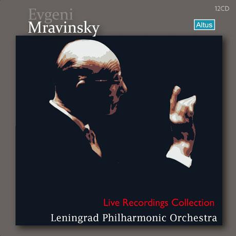 LIVE RECORDINGS COLLECTION/ LENINGRAD PHILHARMONIC ORCHESTRA [므라빈스키 & 레닌그라드 필하모닉 오케스트라: 라이브 컬렉션] [한정판]