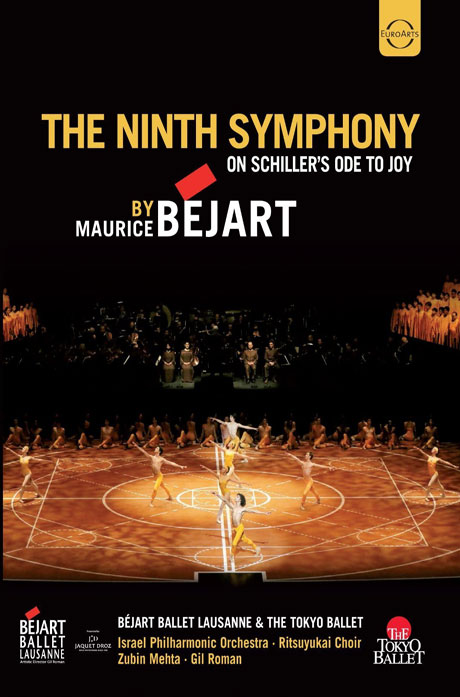 THE NINE SYMPHONY ON SCHILLER'S ODE TO JOY - BY MAURICE BEJART/ ZUBIN MEHTA  [베토벤: 교향곡 9번 - 모리스 베자르의 안무에 의한 발레]