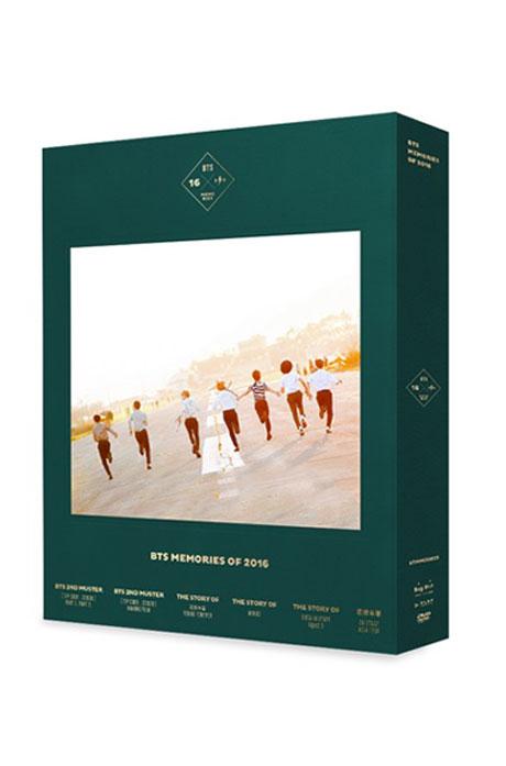 BTS MEMORIES OF 2016 [4DVD+포토북+포토카드]