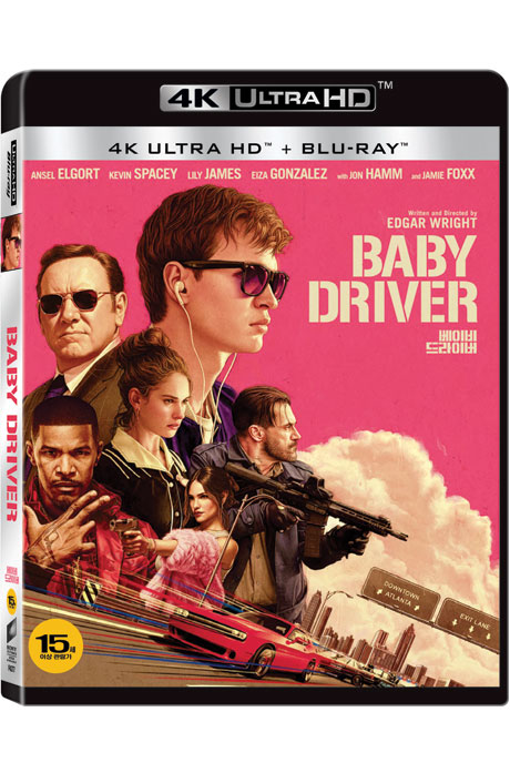 베이비 드라이버 [4K UHD+BD] [BABY DRIVER]