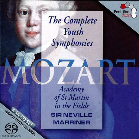 THE COMPLETE YOUTH SYMPHONIES/ NEVILLE MARRINER [SACD HYBRID]