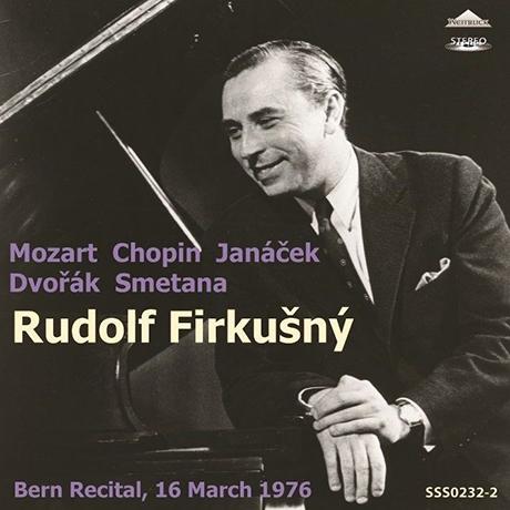 BERN RECITAL 16 MARCH 1976  [베른 리사이틀: 모차르트, 쇼팽, 야나체크 외 - 루돌프 피르쿠스니]