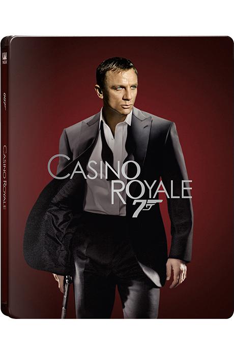 007 카지노 로얄 4K UHD+BD [스틸북 한정판] [CASINO ROYALE]