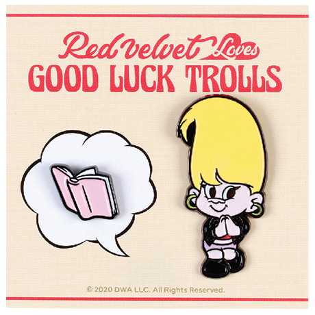 LOVES GOOD LUCK TROLLS - BADGE SET [SEULGI(슬기) TROLL]