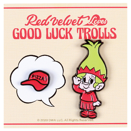 LOVES GOOD LUCK TROLLS - BADGE SET [JOY(조이) TROLL]