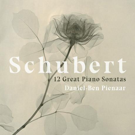 12 GREAT PIANO SONATAS/ DANIEL-BEN PIENAAR [슈베르트: 12곡의 피아노 소나타  - 다니엘 벤 피나르]