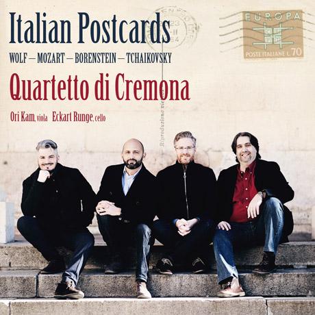 ITALIAN POSTCARDS/ QUARTETTO DI CREMONA [이탈리아에서 온 엽 - 크레모나 사중주단]