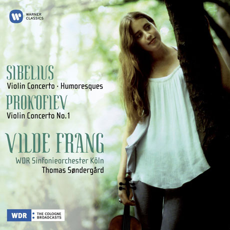 VIOLIN CONCERTO/ VILDE FRANG, THOMAS SONDERGARD