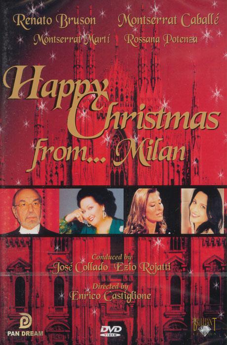 HAPPY CHRISTMAS FROM...MILAN/ JOSE COLLADO/ EZIO ROJATTI