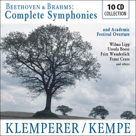 COMPLETE SYMPHONIES/ OTTO KLEMPERER, RUDOLF KEMPE [클렘페러: 베토벤 & 켐페: 브람스 교향곡 전곡]