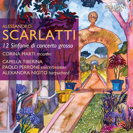 12 SINFONIE DI CONCERTO GROSSO/ ALEXANDRA NIGITO, CORINA MARTI [스카를라티: 콘체르토 그로소 양식에 의한 12개의 신포니아]